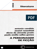 A Personagem de Ficcao - Antonio Candido e Outros