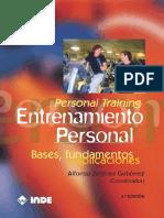 Libro Personal Training Muy Actualizado