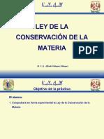 7L Conservacion de La Materia