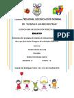 Elementos Del Programa de Estudios de Educación Preescolar, El Valor Que Tiene Hacia El Impacto de Actividades Didácticas.