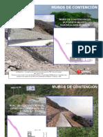 Fotos de Muros de Contencion Cambios