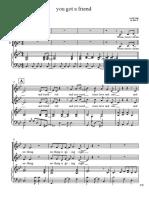 You Gosyytstsytsyt a Friendssgsgsgssg Piano Vocal PDF