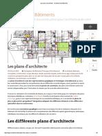 Les Plans d'Architecte VOCABULAIRE