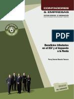 LIBRO Beneficios tributarios en el IGV y el impuesto a la renta