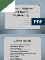Highway and Traffic Engineering
