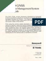 GNSS Navigation Management System R3-Aug99