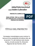 Presentción proyecto