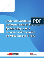 Protocol o Ebola