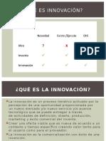 TAREA Innovacion