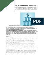 Los Tres Pilares de Las Finanzas