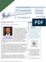 Chesapeake INCOSE Jan 2015 Newsletter