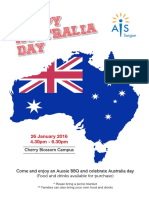australian day 2016