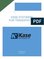 Kase StatWare v 9.8.1 Manual