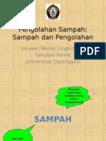 Pengolahan Sampah week 2 (Sampah dan Pengolahan).pptx