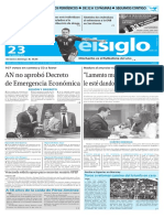 Edición Impresa Elsiglo 23-01-2016