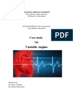 CASE STUDY on Unstable Agina