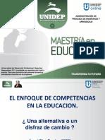 El Enfoque Por Competencias en La Educación