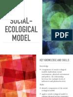 social-ecological model presentation pdf