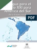 Agua para el siglo XXI para América del Sur.
