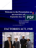 New Factories Acts,1948