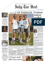 The Daily Tar Heel for April 9, 2010