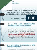 15.09.15 Participacion Eficiente Procesos Contrataciones Estado Bienes Servicios