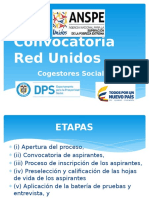 Convocatoria Red Unidos