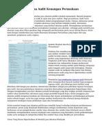 Trik Menyeleksi Jasa Audit Keuangan Perusahaan