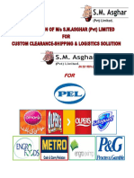 Pak Electron Limited Profile of S.M.Asghar (Pvt) Limited Brochure