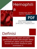 Hemofilia Mutiara Dita