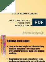 CLASE 3 Guias Alimentarias