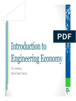 01 Introduction to Engineering Economy