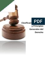 Clasificacion, Fuentes y Principios Generales Del Derecho