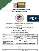 PORTAFOLIO DEL FORMADOR MÓDULO 2a MAESTRA ROSY