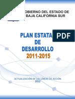 Plan Estatal de Desarrollo 2015 Gobierno del Estado de Baja California Sur, Mexico