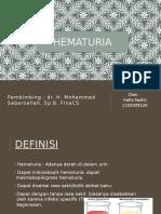 Ppt Hematuria