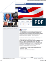 ALL FACEBOOK Postings and Incidents From July 29 to January 23, 2016