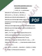 MATHEMATICS EXTRA QUESTIONS CLASS X SA 2 PC - 17 Maths Extra Qns (a.P.,) SA2