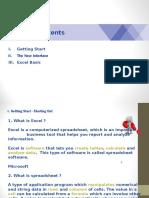 Basic Excel Training - 20140825