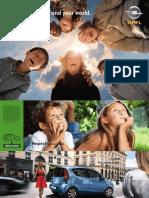 opel range brochure
