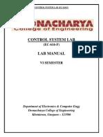 Control System Lab