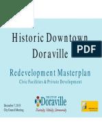 Doraville Downtown HDD Masterplan December 7 2015 Version 9
