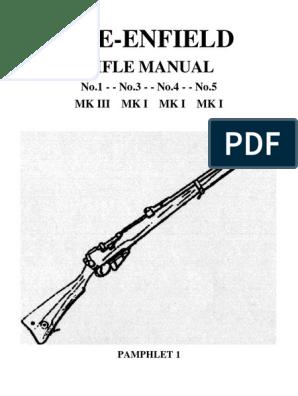 Lee Enfield pdf | Rifle | Cartridge (Firearms)