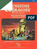 X1 - The Isle of Dread, Lvl 3-7