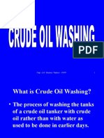Crude Oil Washing