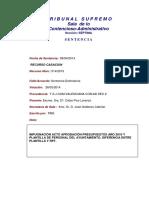 Sentencia Pleno Ayto. Alicante Diferenc Plantilla y RPT