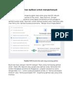 iklan aplikasi di facebook