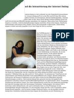 Die Einführung und die Intensivierung der Internet Dating von Ashley Lekov