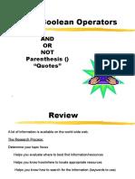 hc boolean operators ppt
