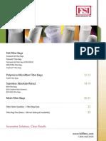 Fsi Catalog Filter Bags